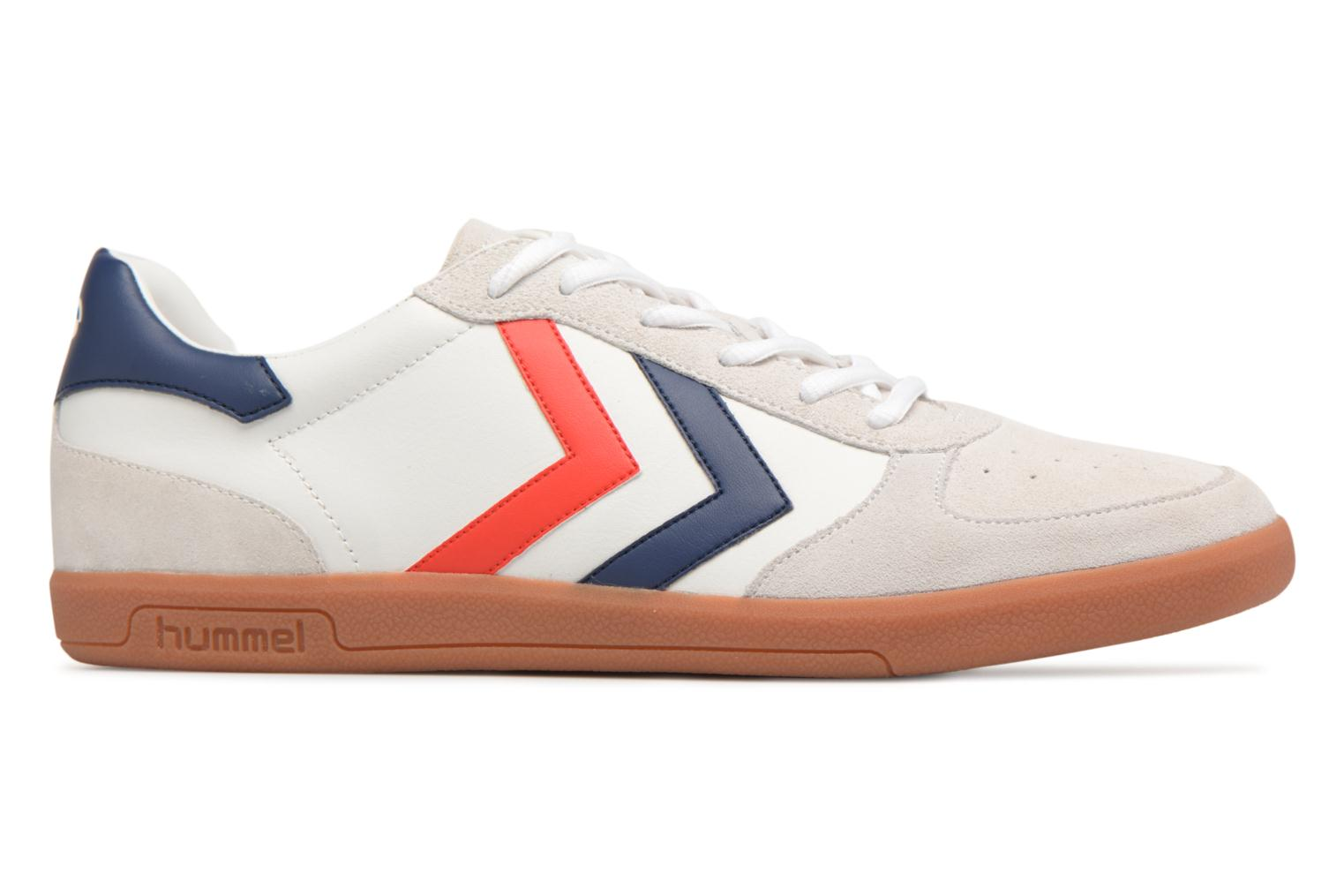 Baskets Hummel VICTORY LEATHER Blanc vue derrière