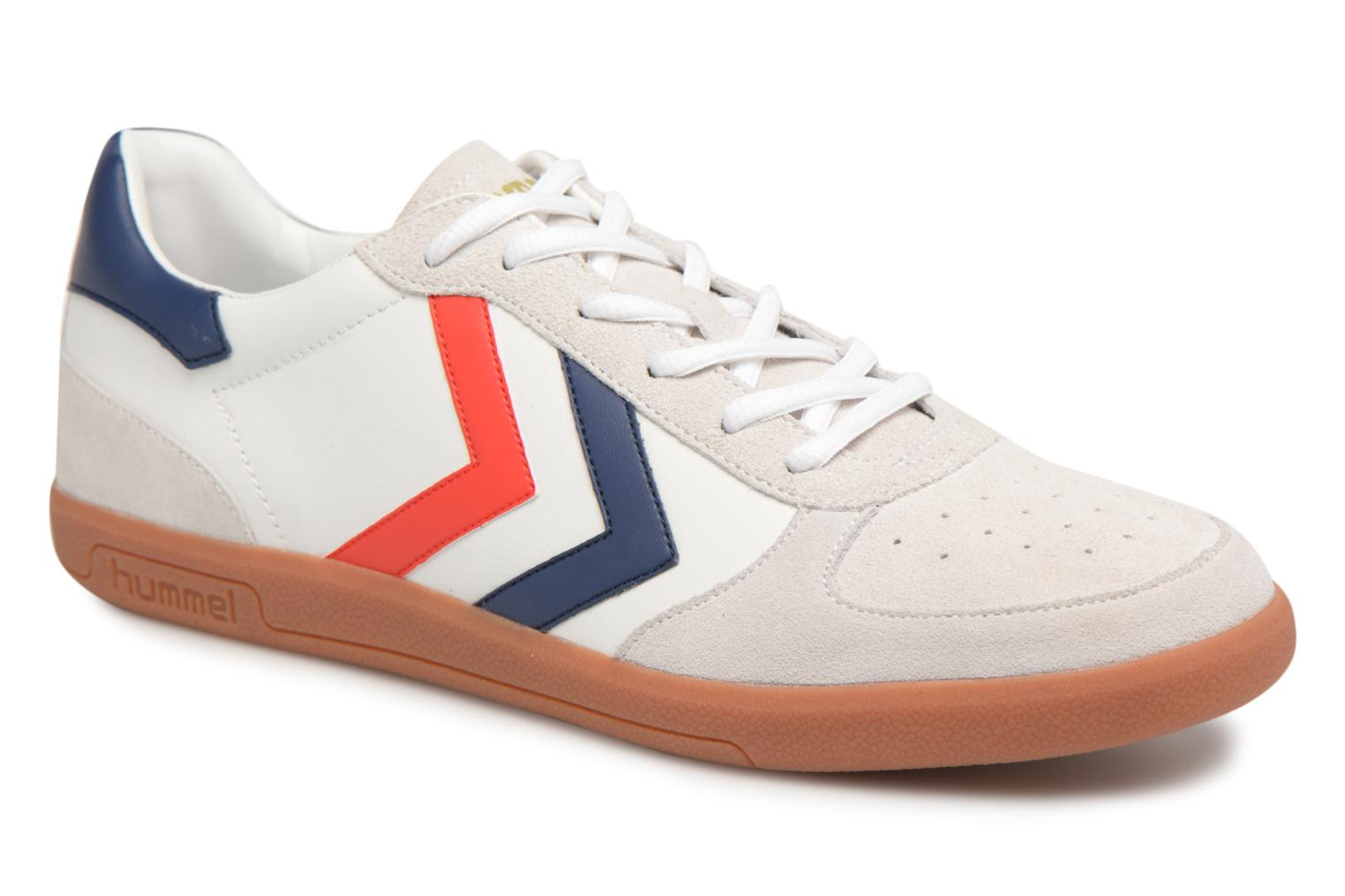 Baskets Hummel VICTORY LEATHER Blanc vue détail/paire
