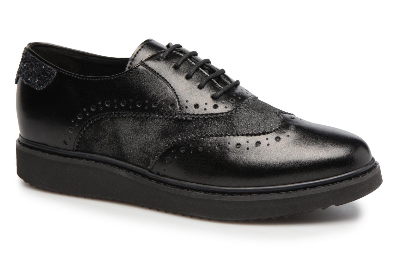 Grandes descuentos últimos zapatos Geox D THYMAR B (Negro) - Zapatos con cordones Descuento
