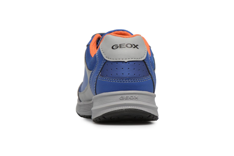 Sneaker Geox J TOP FLY B. B blau ansicht von rechts