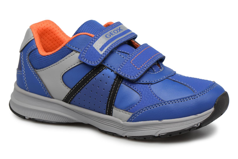 Sneaker Geox J TOP FLY B. B blau detaillierte ansicht/modell