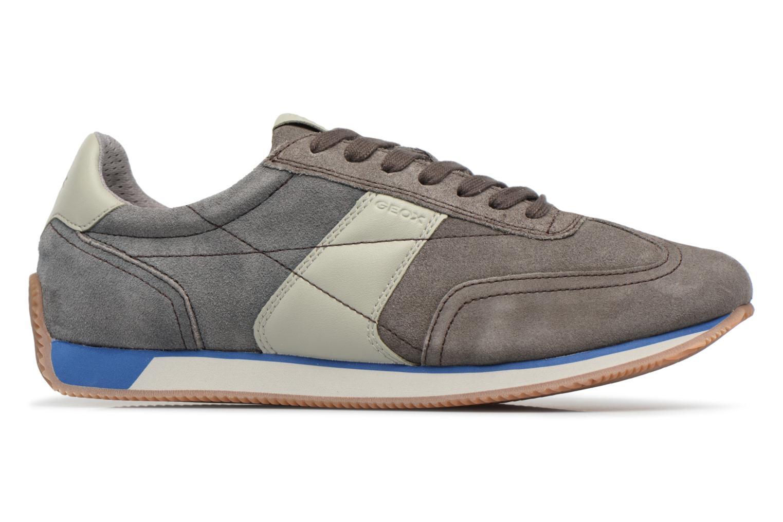 Sneakers Geox U VINTO B Grigio immagine posteriore
