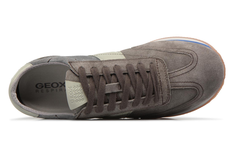 Sneakers Geox U VINTO B Grigio immagine sinistra