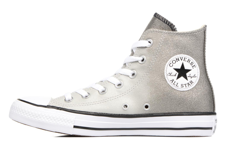 Chuck Taylor All Star Ombre Metallic Hi W Grey/black/white