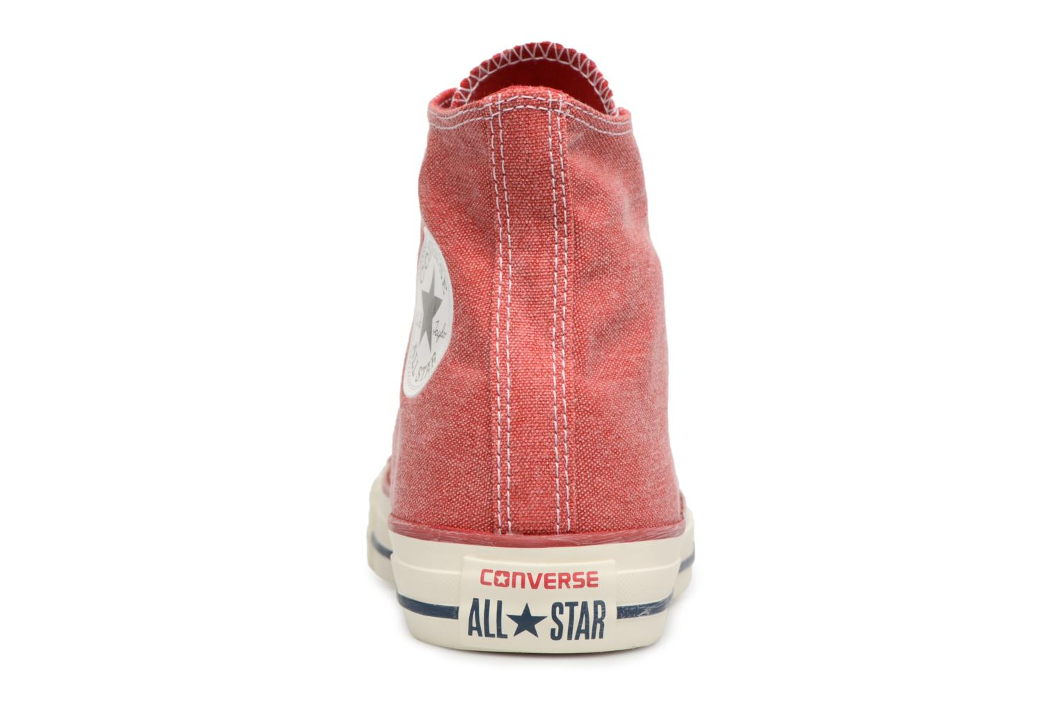 Chuck Taylor All Star Stone Wash Hi W Enamel Red/Enamel Red/White