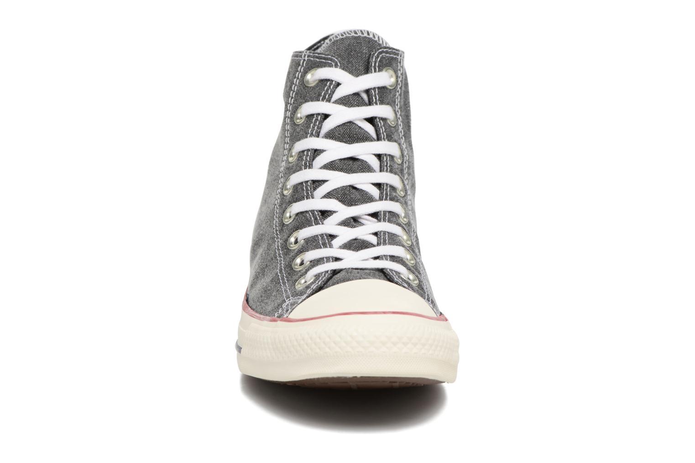 Sneakers Converse Chuck Taylor All Star Stone Wash Hi M Zwart model