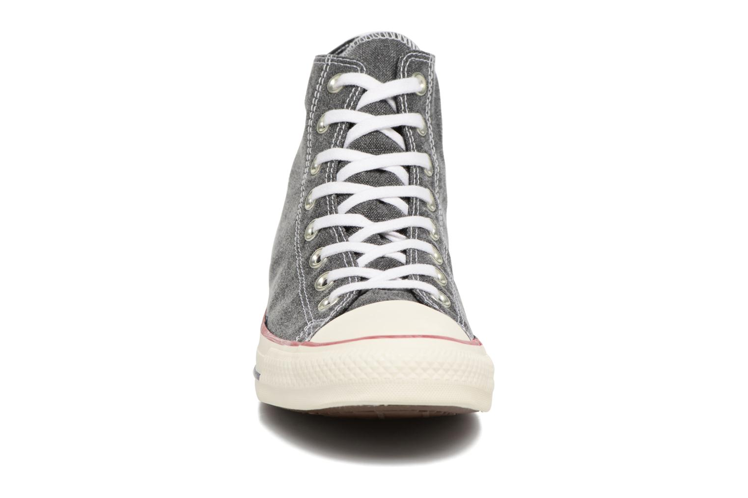 Sneakers Converse Chuck Taylor All Star Stone Wash Hi M Zwart model