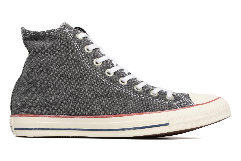 Sneakers Converse Chuck Taylor All Star Stone Wash Hi M Zwart achterkant