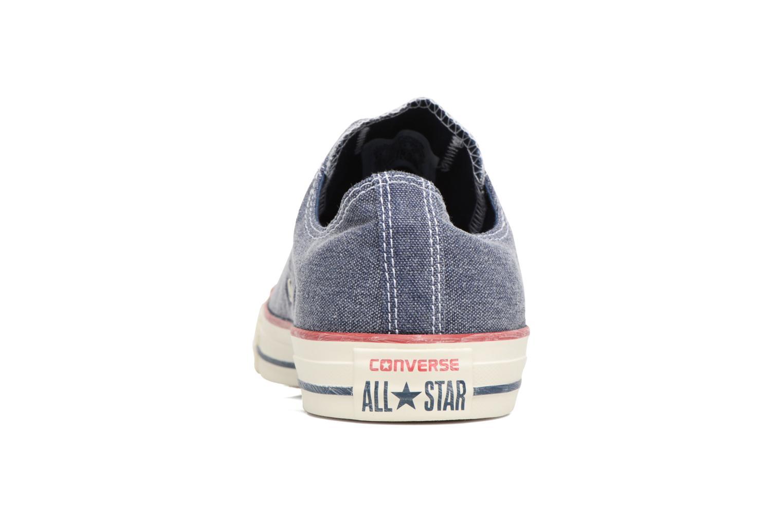 Chuck Taylor All Star Converse Stone Wash Bue Blauw LzeR5oc7