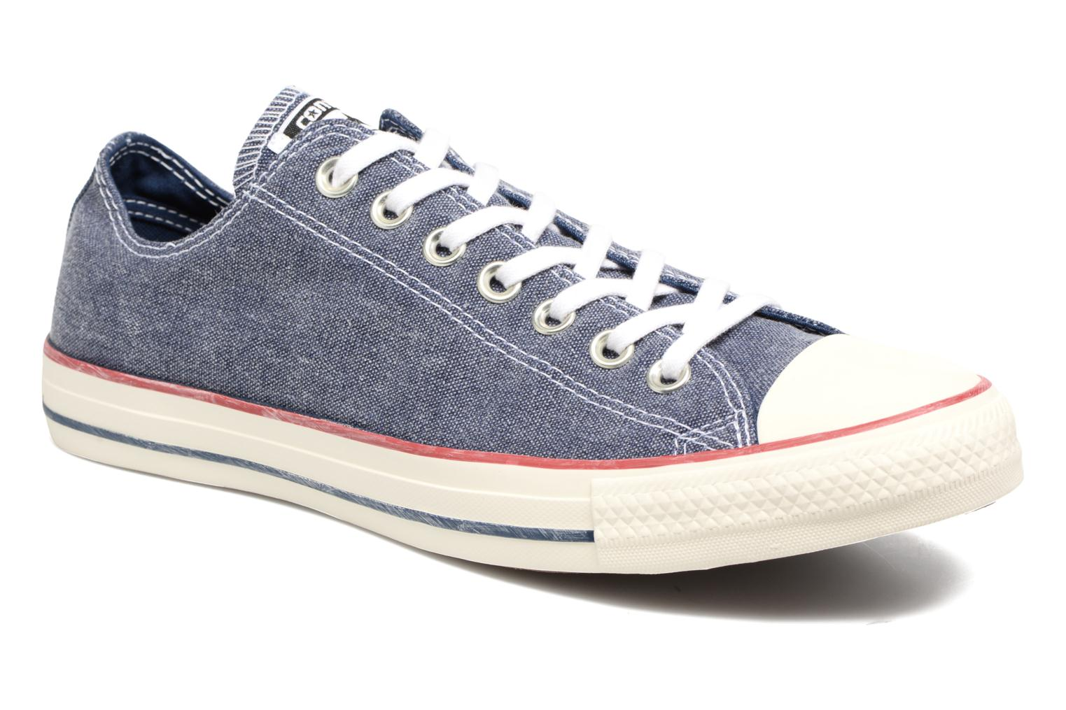 Converse Chuck Taylor All Star Wash Ox- Baskets mode femme - Bleu, 39 EU (6 UK)