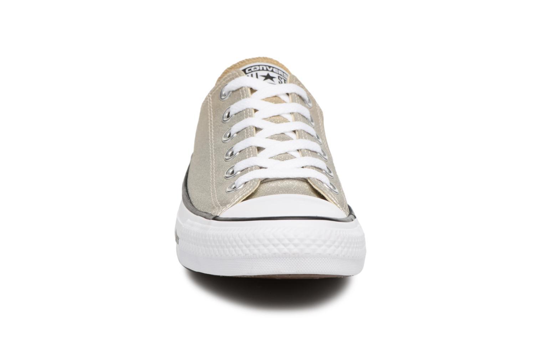 Sneakers Converse Chuck Taylor All Star Ombre Metallic Ox Goud en brons model