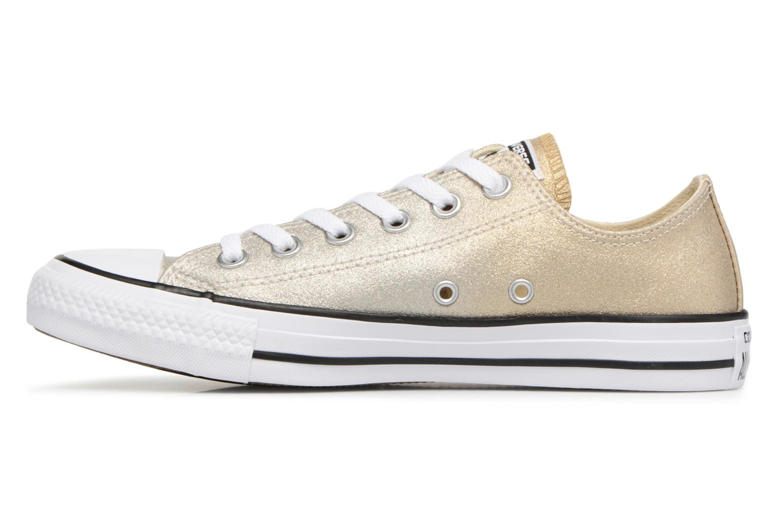 Sneakers Converse Chuck Taylor All Star Ombre Metallic Ox Goud en brons voorkant