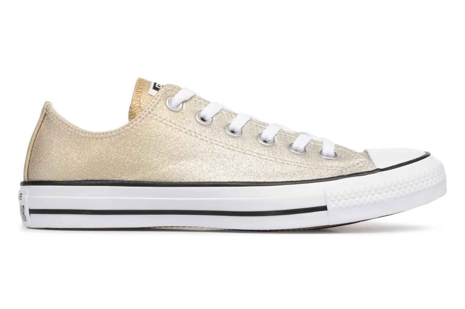 Sneakers Converse Chuck Taylor All Star Ombre Metallic Ox Goud en brons achterkant