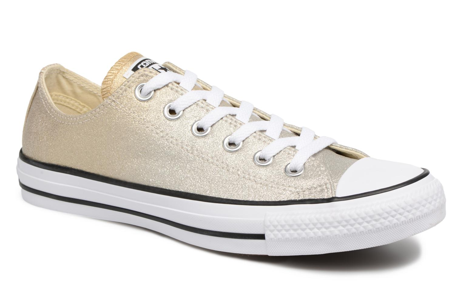 Sneakers Converse Chuck Taylor All Star Ombre Metallic Ox Goud en brons detail