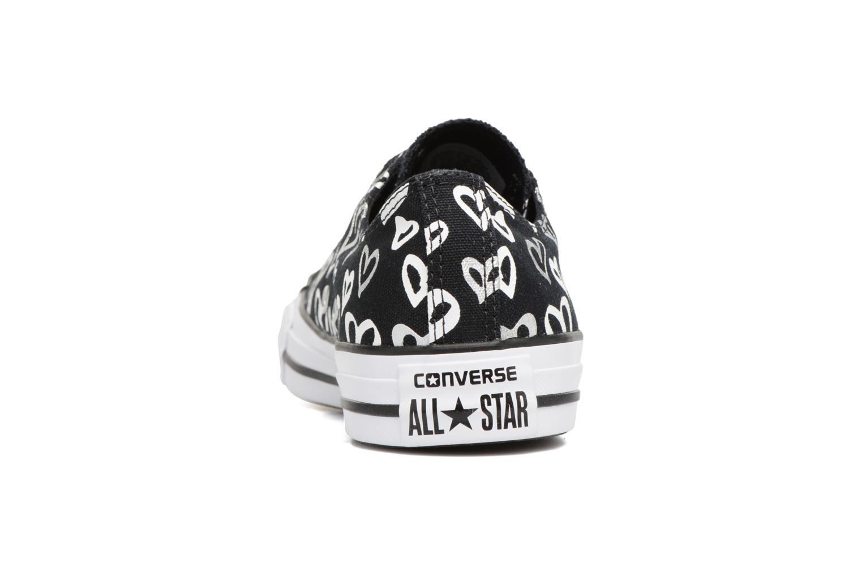 Chuck Converse white Ox Black Star silver Print Taylor All gUnUdfHA