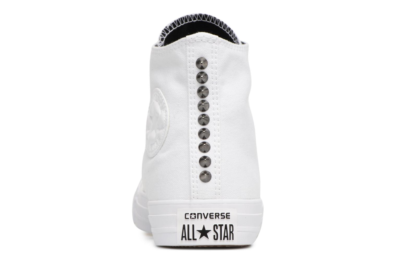 Chuck Taylor All Star Canvas + Studs Hi White/Black/White