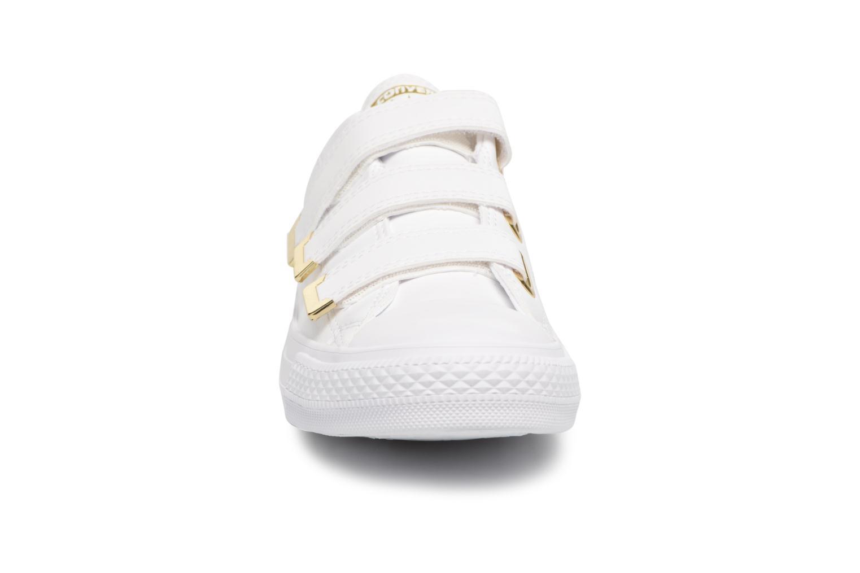 Baskets Converse Chuck Taylor All Star 3V SL + Hardware Ox Blanc vue portées chaussures