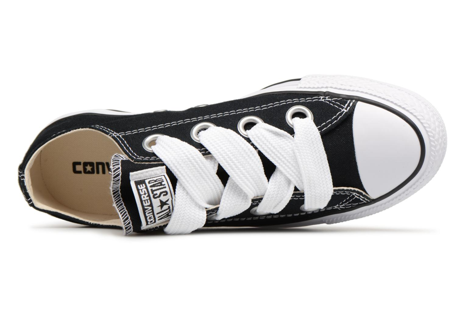 Eyelets Big Converse Star Chuck Taylor Black All White Ox Natural TvwwXI1