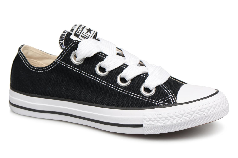 Los zapatos más populares para hombres y mujeres Converse Chuck Taylor All Star Big Eyelets Ox (Negro) - Deportivas en Más cómodo