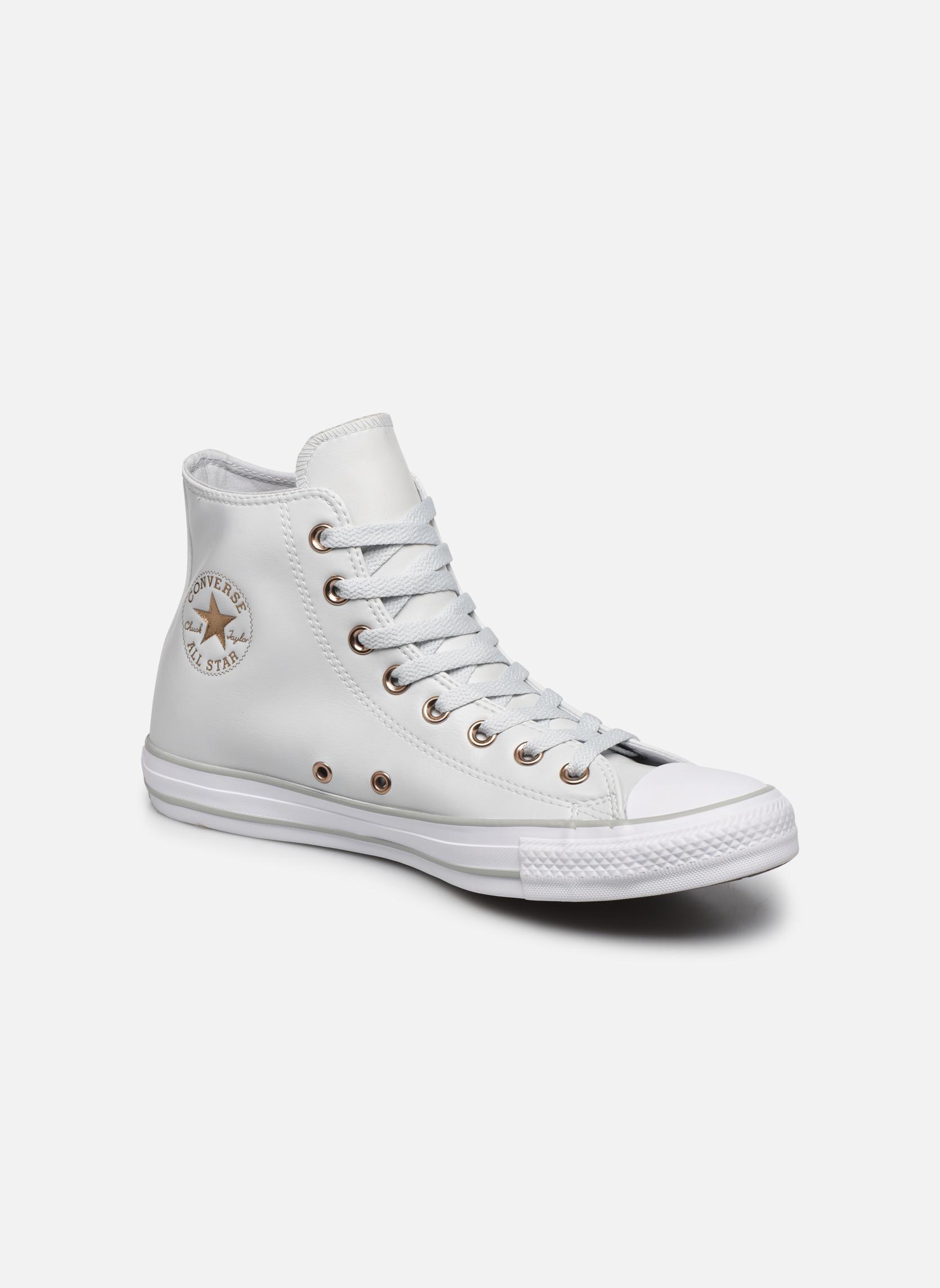 Converse Chuck Taylor All Star Craft SL Hi (Blanc) - Baskets chez Sarenza (324671)