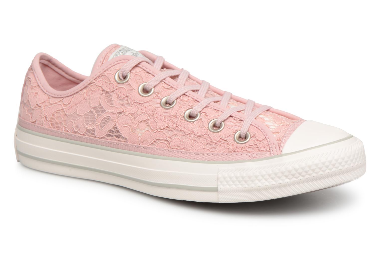 Grandes descuentos últimos zapatos Converse Chuck Taylor All Star Flower Lace Ox (Rosa) - Deportivas Descuento