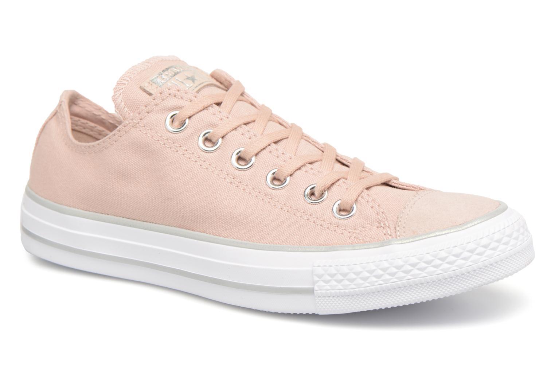 Zapatos casuales salvajes Converse Chuck Taylor All Star Tipped Metallic Toecap Ox (Rosa) - Deportivas en Más cómodo