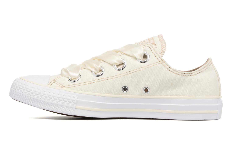 Sneaker Converse Chuck Taylor All Star Big Eyelets Pastel Canvas Ox weiß ansicht von vorne