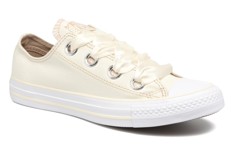 Sneaker Converse Chuck Taylor All Star Big Eyelets Pastel Canvas Ox weiß detaillierte ansicht/modell