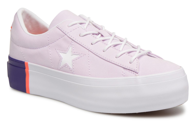 Grandes descuentos últimos zapatos Converse One Star Platform Tri-Block Midsole Ox (Violeta     ) - Deportivas Descuento