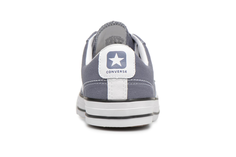 Sneakers Converse Star Player Summer Twill Ox Grijs rechts