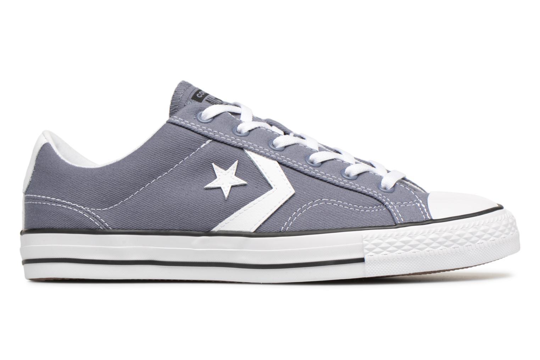 Sneakers Converse Star Player Summer Twill Ox Grijs achterkant