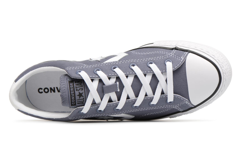 Sneakers Converse Star Player Summer Twill Ox Grijs links