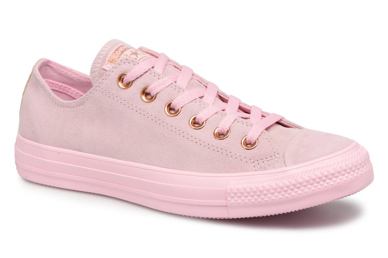 Zapatos promocionales Converse Chuck Taylor All Star Tonal P. Suede Ox (Rosa) - Deportivas   Los últimos zapatos de descuento para hombres y mujeres