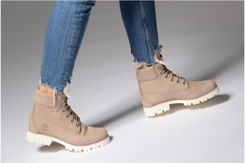 Bottines et boots Timberland Heritage Lite 6in Boot Beige vue bas / vue portée sac