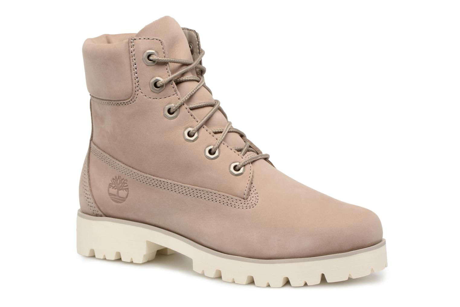 Heritage Lite 6in Boot Pure Cashmere Nubuck