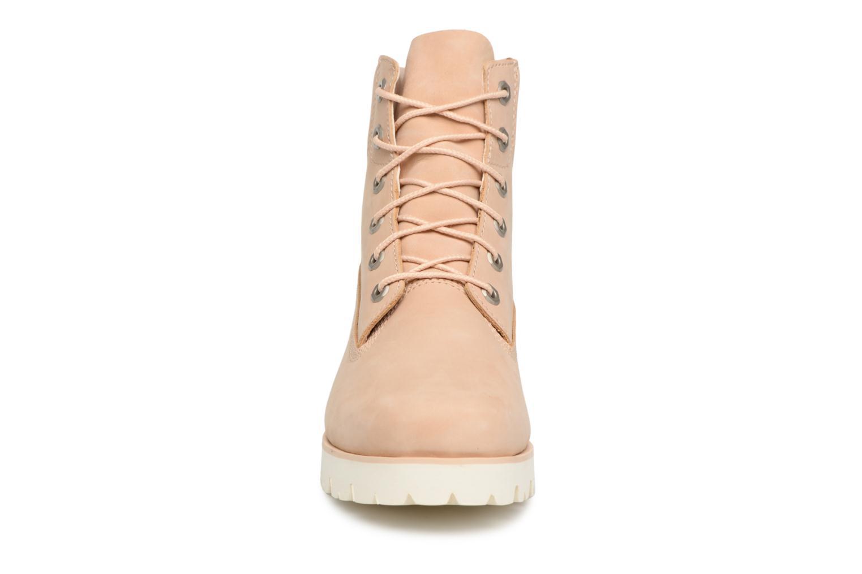 Stiefeletten & Boots Timberland Heritage Lite 6in Boot beige schuhe getragen