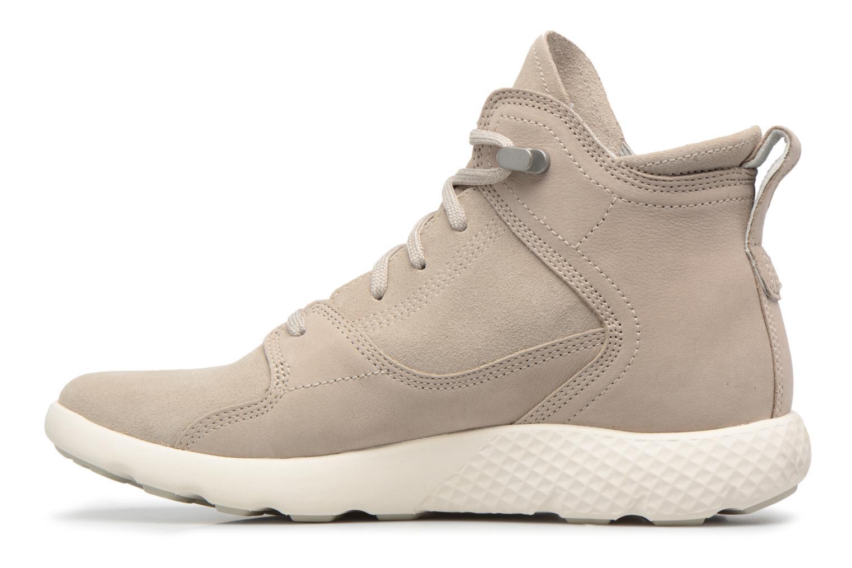 Stiefeletten & Boots Timberland FlyRoam Hiker grau ansicht von vorne