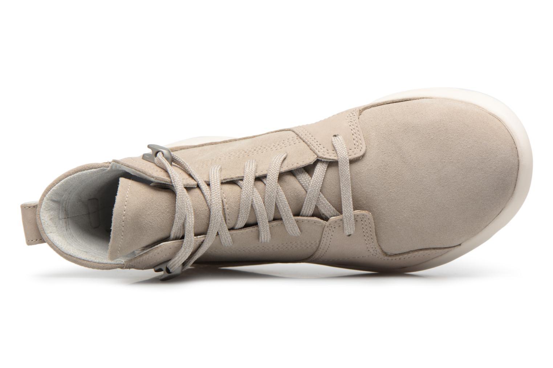 Stiefeletten & Boots Timberland FlyRoam Hiker grau ansicht von links