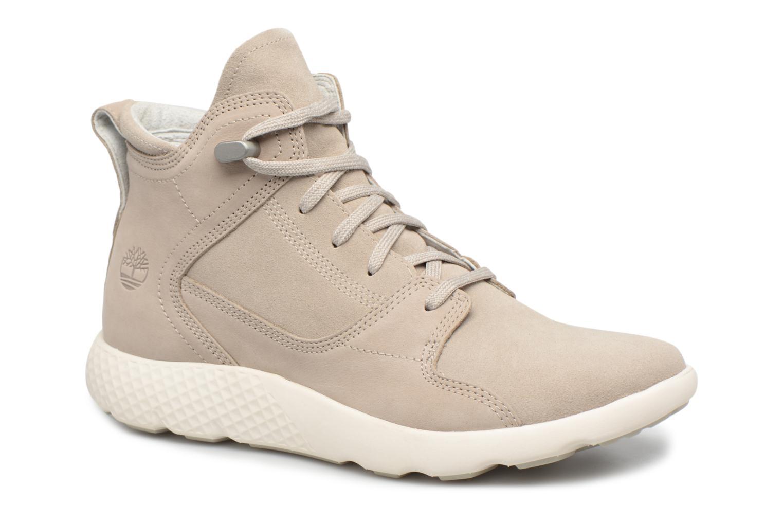 Bottines et boots Timberland FlyRoam Hiker Gris vue détail/paire