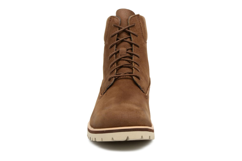 "Bottines et boots Timberland Chilmark 6"" Boot Marron vue portées chaussures"