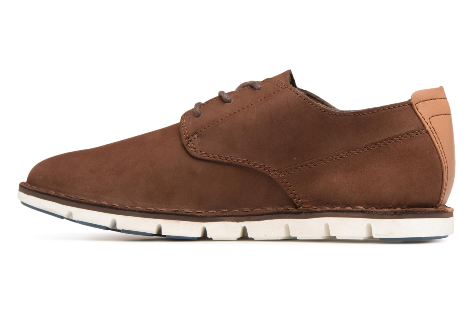 Chaussures à lacets Timberland Tidelands Oxford Marron vue face