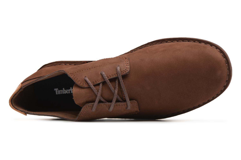Chaussures à lacets Timberland Tidelands Oxford Marron vue gauche
