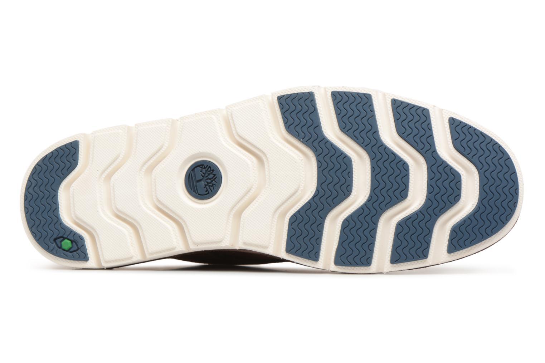 Chaussures à lacets Timberland Tidelands Oxford Marron vue haut