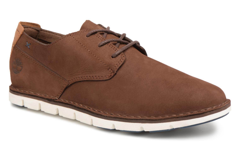Chaussures à lacets Timberland Tidelands Oxford Marron vue détail/paire