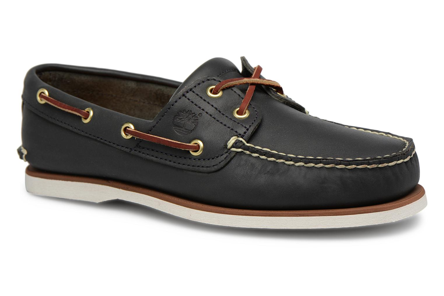 MEN'S 2 EYE BOAT SHOE Nautical Blue Wilderness
