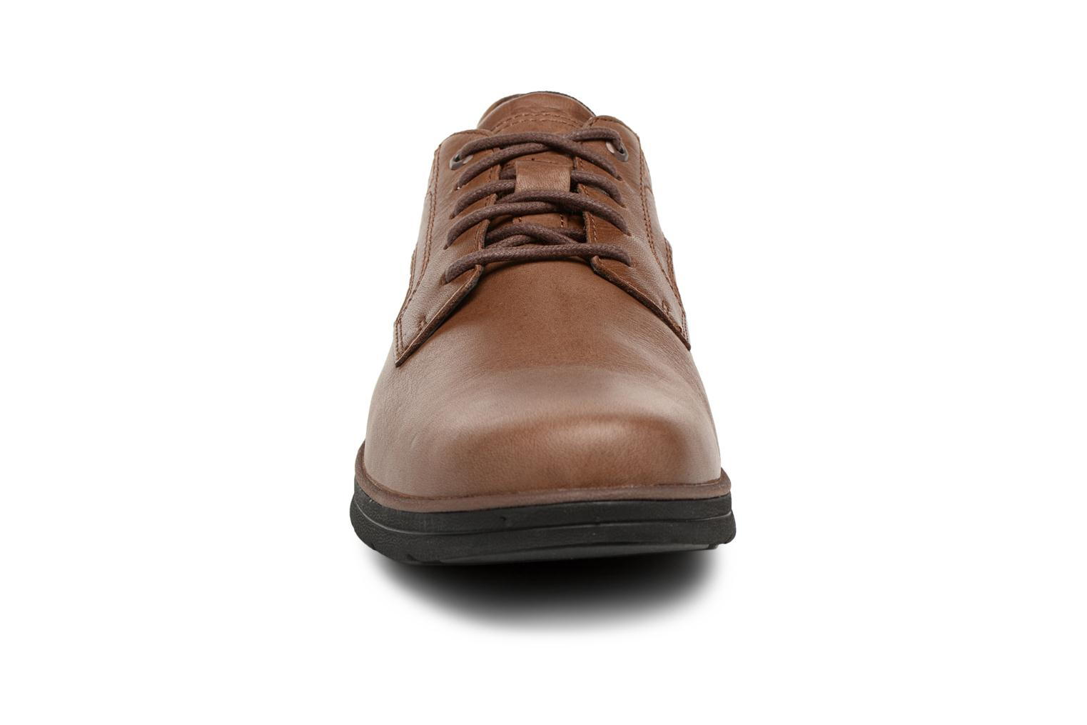 Chaussures à lacets Timberland Bradstreet Padded Collar Marron vue portées chaussures