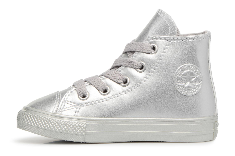 Sneakers Converse CTAS HI Argento immagine frontale