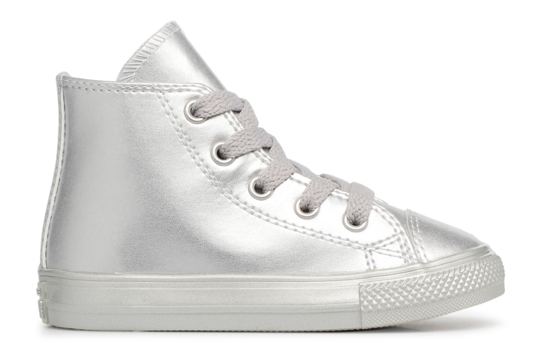 Sneakers Converse CTAS HI Argento immagine posteriore