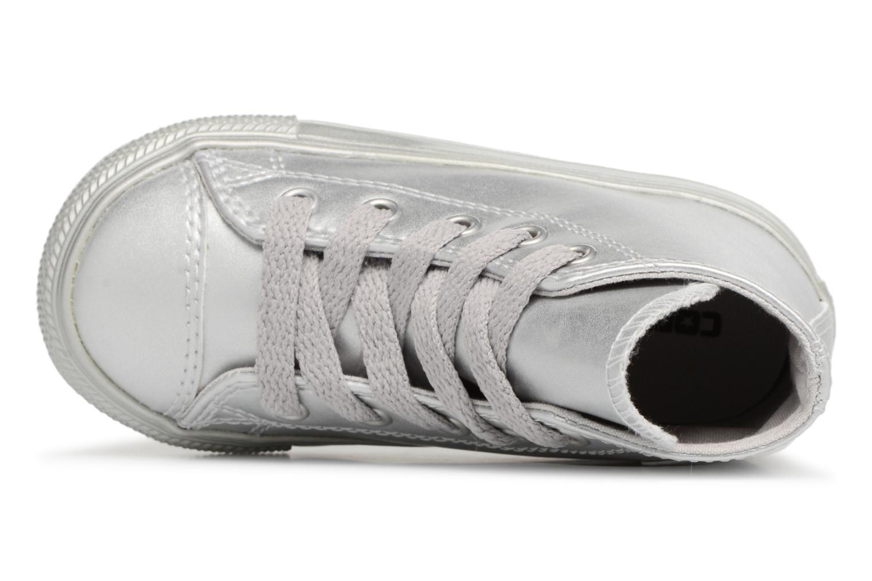 Sneakers Converse CTAS HI Argento immagine sinistra