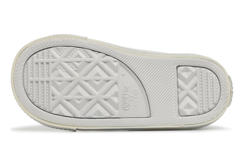 Sneakers Converse CTAS HI Argento immagine dall'alto